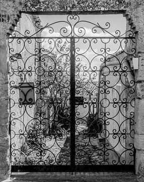 Zaun mit Locken von Leontien van der Willik-de Jonge