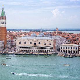 Stadsgezicht van Venetië van Arja Schrijver Fotografie