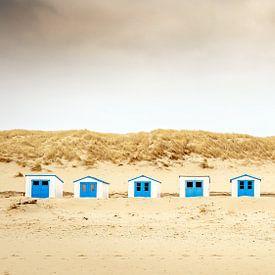 Strandhuisjes van Gonnie van de Schans