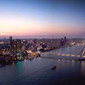 Skyline Rotterdam van Claire Droppert