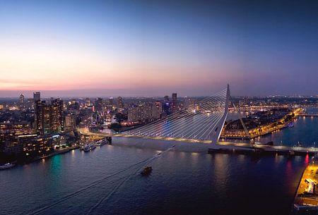 Rotterdam Skyline sur Claire Droppert