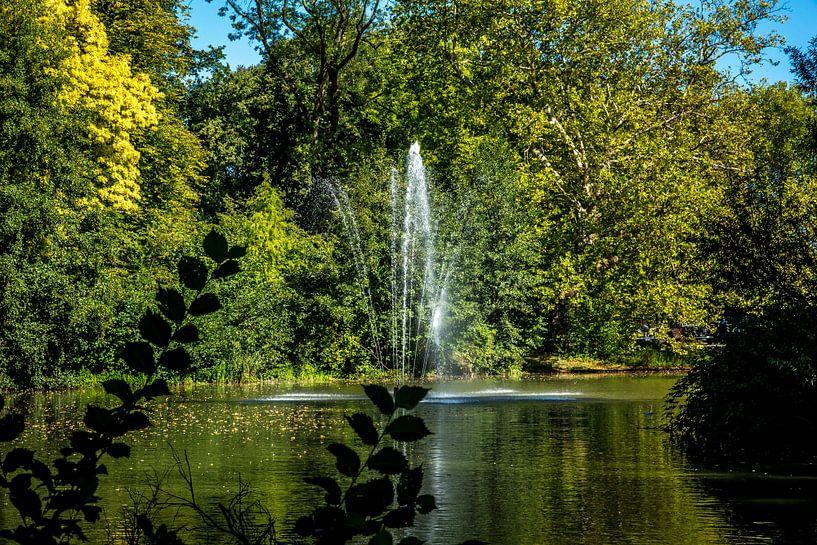 Utrecht-Julianapark met Fontein 2 van Jaap Mulder