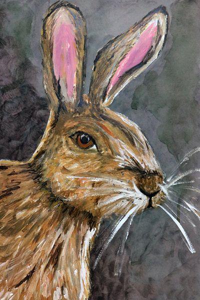 The Brown Rabbit van Jolanda Janzen-Dekker