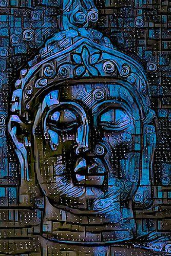 Buddha - the Joy in Blue