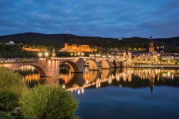 Le vieux pont de Heidelberg sur Michael Valjak