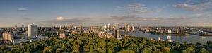 Panorama van Rotterdam van