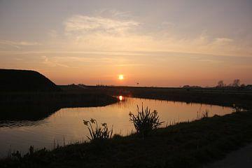 Texel Landschap 17 van Starworks Lien van der Star