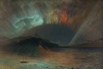 Aurora Borealis, Frederic Edwin Church sur