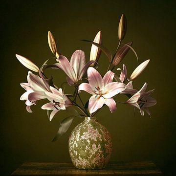 Stillleben mit Lilien von Petri Vermunt