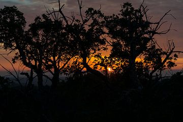 zonsondergang in alentejo portugal van Compuinfoto .