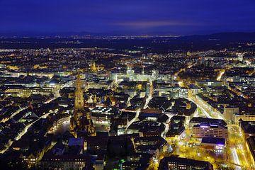 Freiburg von oben van Patrick Lohmüller
