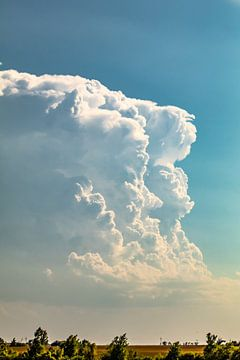 Prachtige onweerswolk van Donny Kardienaal