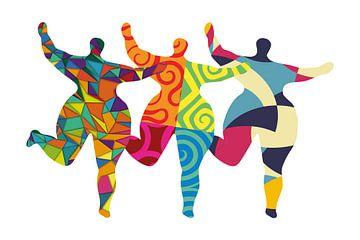 Tribute to Niki de Saint Phalle van Harry Hadders