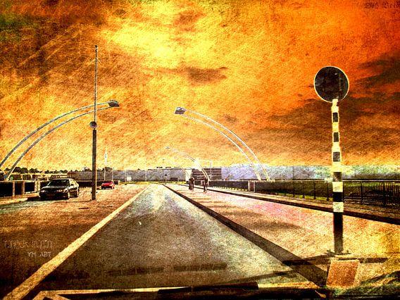 Troubled bridge van Yvon van der Wijk