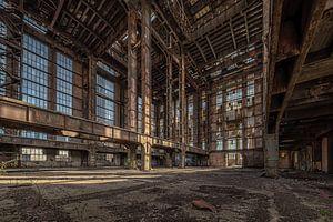 Rostige Fabrik von Guy Bostijn