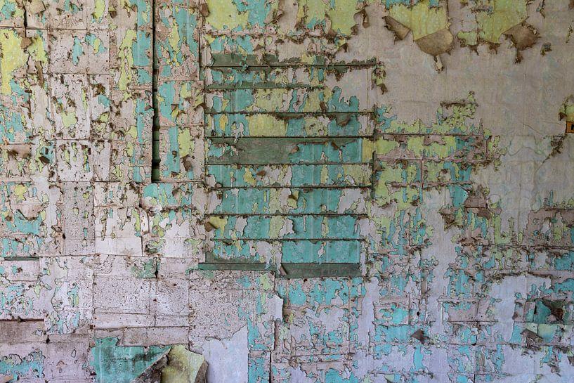 Mauer in Weiss-Russland von Gerard Wielenga