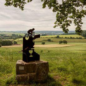 Jean Nelissen monument op de Gulperberg von John Kreukniet
