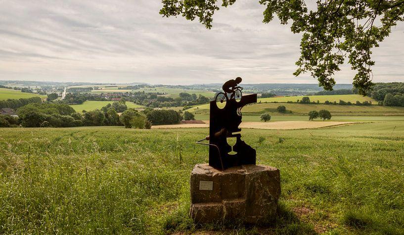 Jean Nelissen monument op de Gulperberg van John Kreukniet
