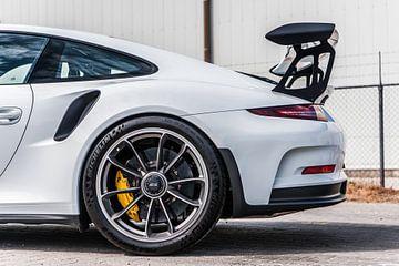 Felge und Spoiler des Porsche 911 GT3 RS von Bas Fransen
