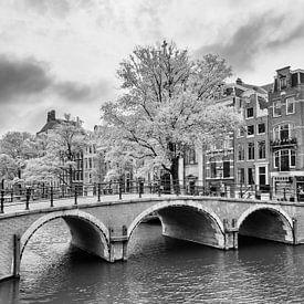 Pont sur le Prinsengracht - Amsterdam sur Tony Buijse