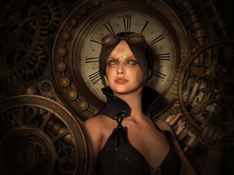 Steampunk Gardienne du Temps sur Britta Glodde
