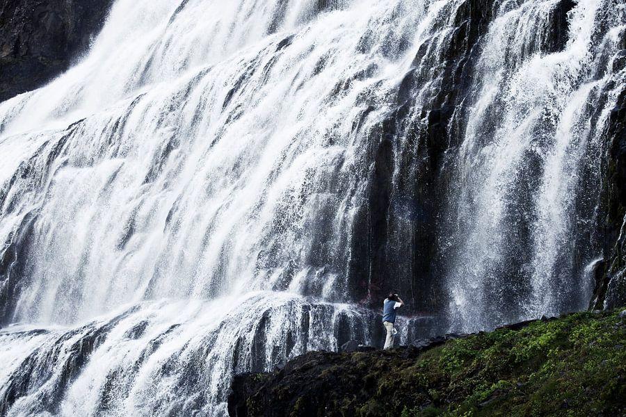 Fjallfoss, Iceland van Martijn Smeets