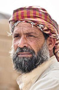 Straatportret van een man uit Dubai