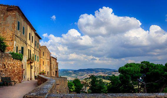 view from Montepulciano  van juvani photo