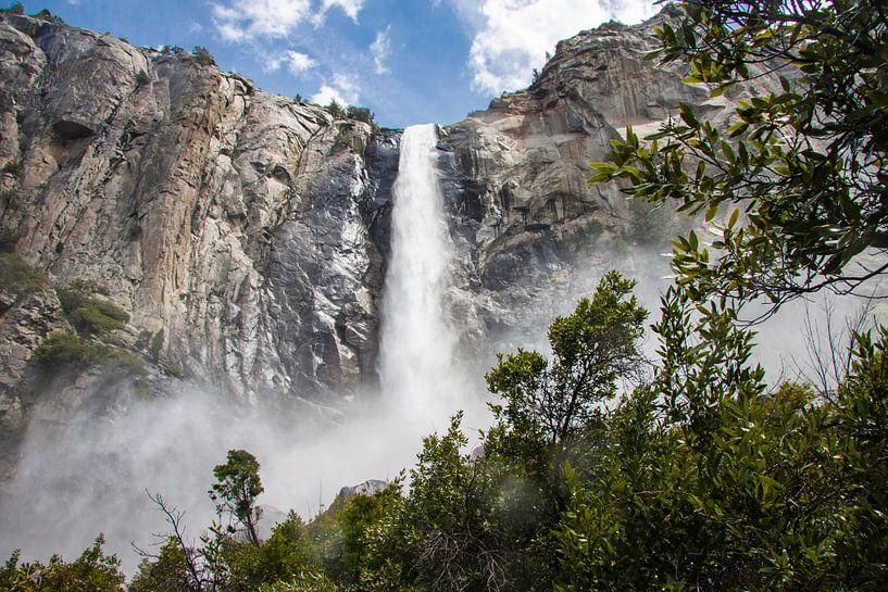 Bridal Veil in Yosemite van Stefan Verheij