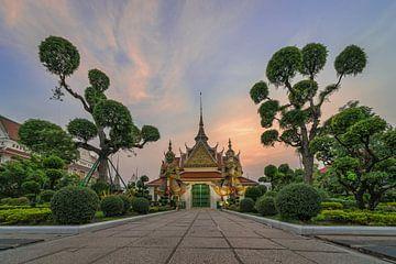 Avond in Bangkok... van Peter Korevaar