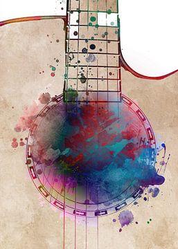 Gitaar 18 muziekkunst #gitaar #muziek van JBJart Justyna Jaszke