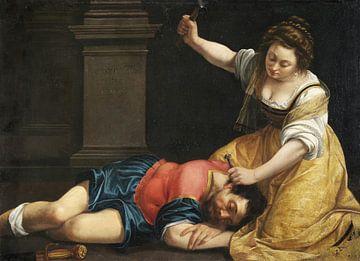 Jael und Sisera, Artemisia Gentileschi von