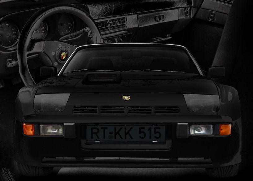 Porsche 924 Carerra GTS (Typ 937) in black von aRi F. Huber