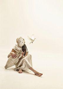 Het meisje en de vogel van Guna Andersone