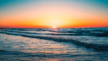 Breezand zonsondergang 3 sur Andy Troy