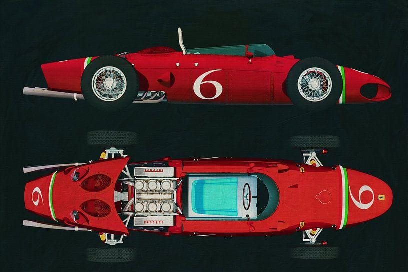 Ferrari 156 Haaienneus 1961 van Jan Keteleer
