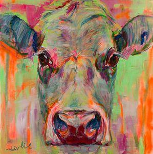 Kuh-Portrait XII von Liesbeth Serlie