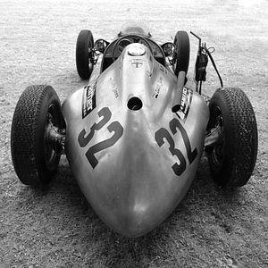 Oude racewagen. van