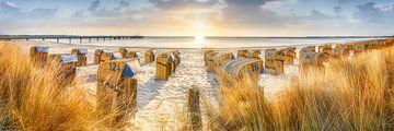 Zomer op het strand aan de Oostzee van Fine Art Fotografie