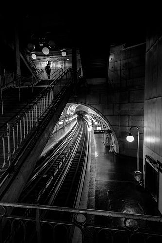 Metro parijs van