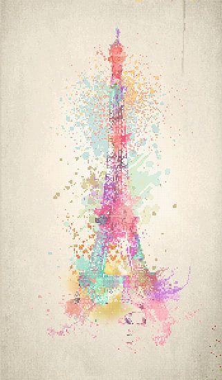 Eiffelturm Dots