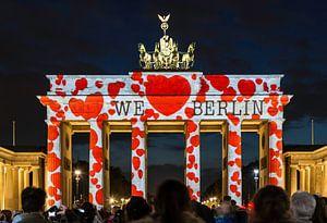 De Brandenburger Tor Berlin in een bijzonder licht
