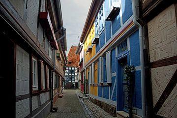 """Welterbestadt Quedlinburg - Gasse """"Schuhhof"""" von t.ART"""