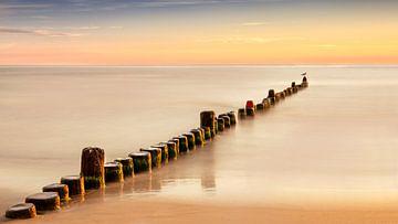 Sonnenaufgang auf Usedom, Deutschland von Adelheid Smitt