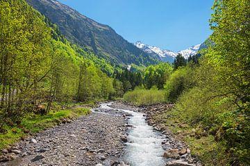 Mooi Trettach-dal in het voorjaar, Oberstdorfse landschap van Susanne Bauernfeind