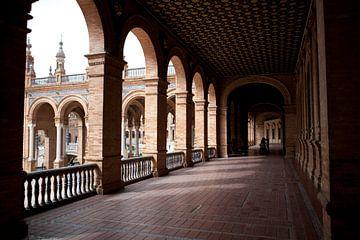Sevilla: Plaza de Espana van Kees van Dun