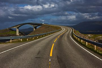 Atlantische Weg in Noorwegen van Anja B. Schäfer