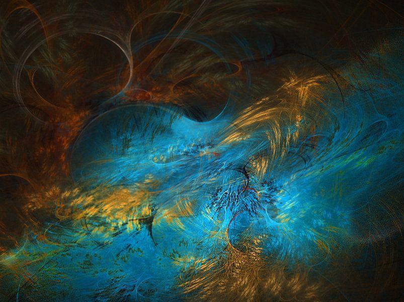 Blauwe beek van Harry Stok