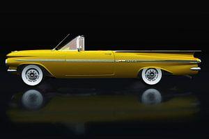 Chevrolet Impala uit de jaren 1950 Zijaanzicht van Jan Keteleer