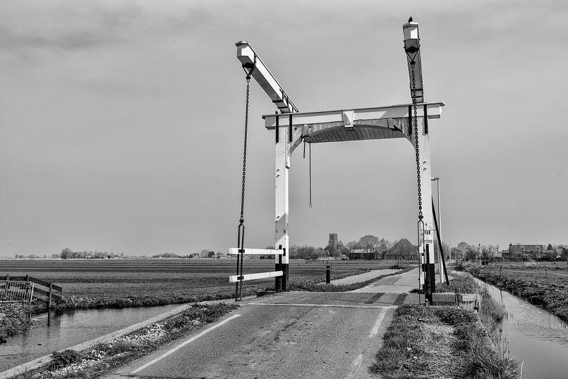 Onderweg naar Ransdorp bij Amsterdam van Don Fonzarelli